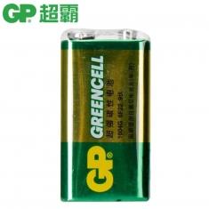 原装正品GP超霸电池 1604G碳性电池6F22 9v电池9伏万能表电池