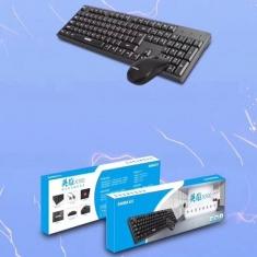 先马英雄x100/x300键盘鼠标套装办公专用防水键鼠台式机笔记本键鼠